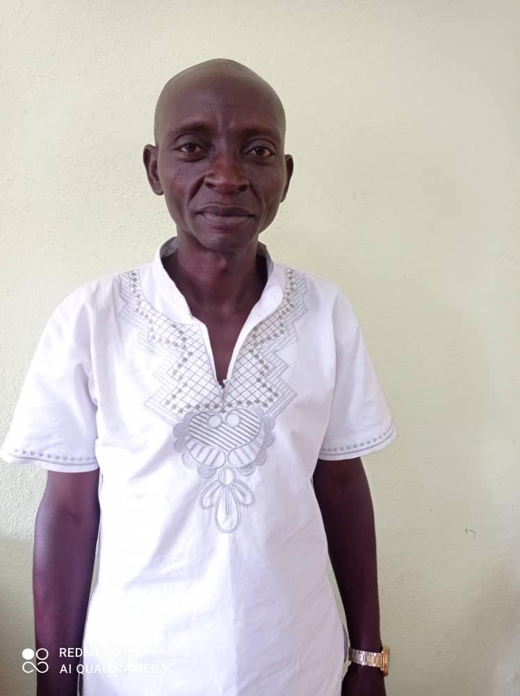 Nguopou Ernest (French Head)